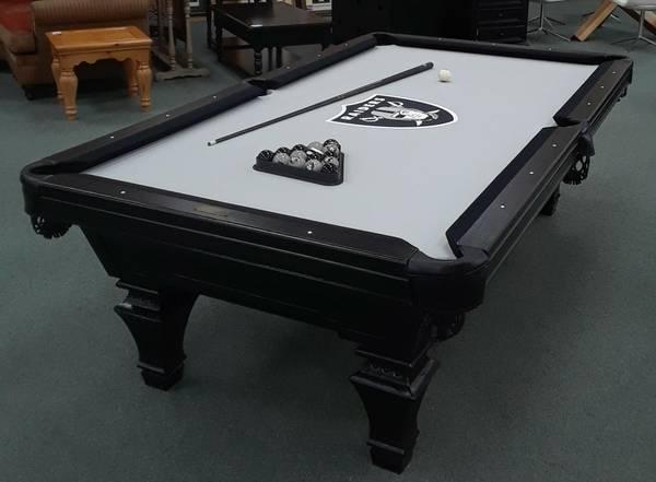 Pool Tables For Sale Sell A Pool Table In Las Vegas Nevada Las - Raiders pool table