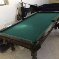 9x5 9 Pieces Slate Pool Table