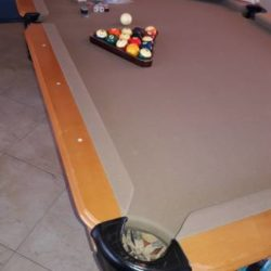 World of Leisure Pool Table (SOLD)