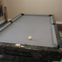 Custom Pool Table Excellent Conditions