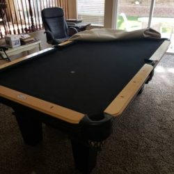 Pool Table and all the Extras