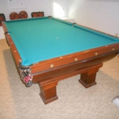 1919 Brunswick Tournament Pool Table