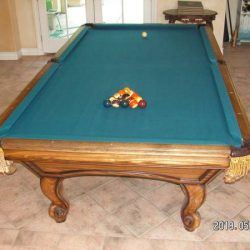 Custom 9'x5' Golden west Pool Table