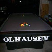 Olhausen Tournament Series Pool Table