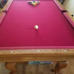 Brunswick Contender Pool Table