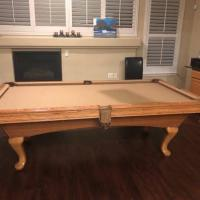 Brunswick 4 x 8 Pool Table with all Accessories