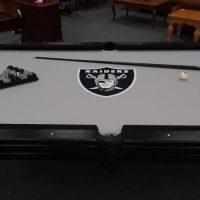 Custom Raiders Pool Table