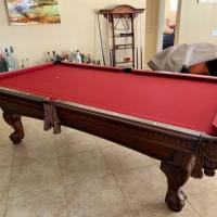 Pool Table Cue Sticks Wall Mount