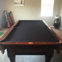 Like New 8ft Pool Table