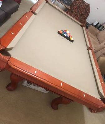 Pool Table 8foot