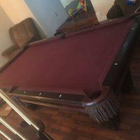 Brunswick Oak 7' Pool Table