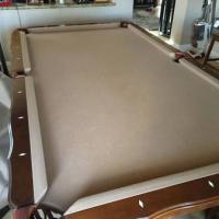 8 foot Olhausen 3 Piece Slate Pool Table