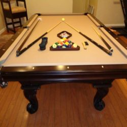 Olhausen Pool Table 8 Ft. & Chair