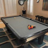 Olhausen Grey Felt 8' Pool Table