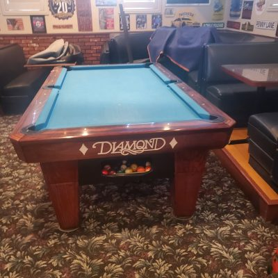 Beautiful Diamond pool table