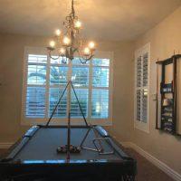8' Dark Oak-Wood Pool Table for Sale
